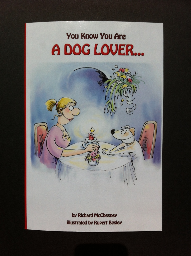 You Know You Are A Dog Lover Book Cover