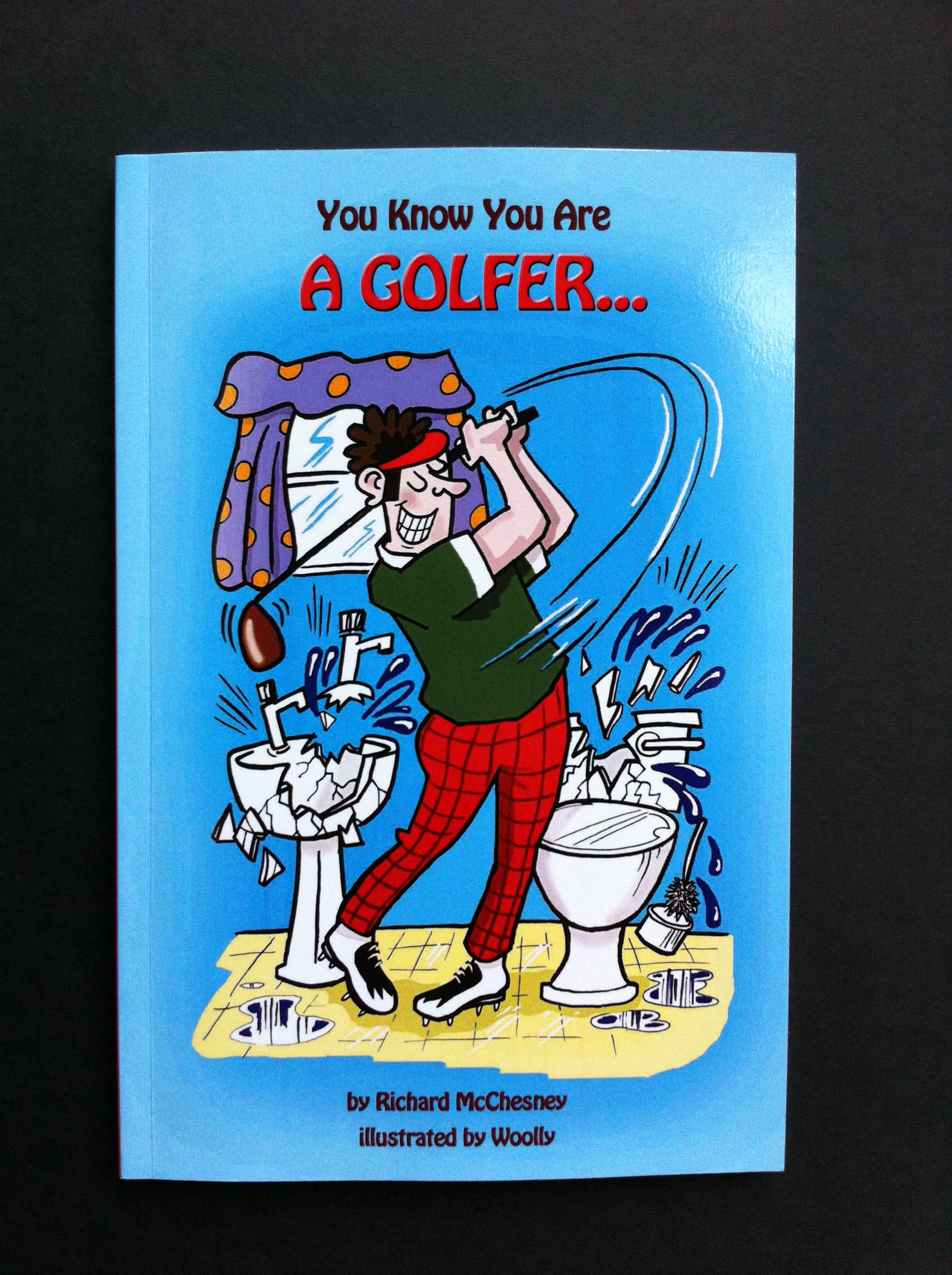 You Know You Are A Golfer Book Cover